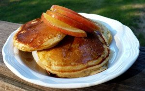 spiced apple pancakes- tangylife