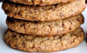 healthy oatmeal cookie tangylife