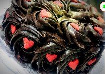 chocolate chiffon cake with ganache tangylife