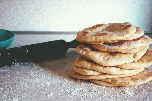 pita bread recipe featured tangylife