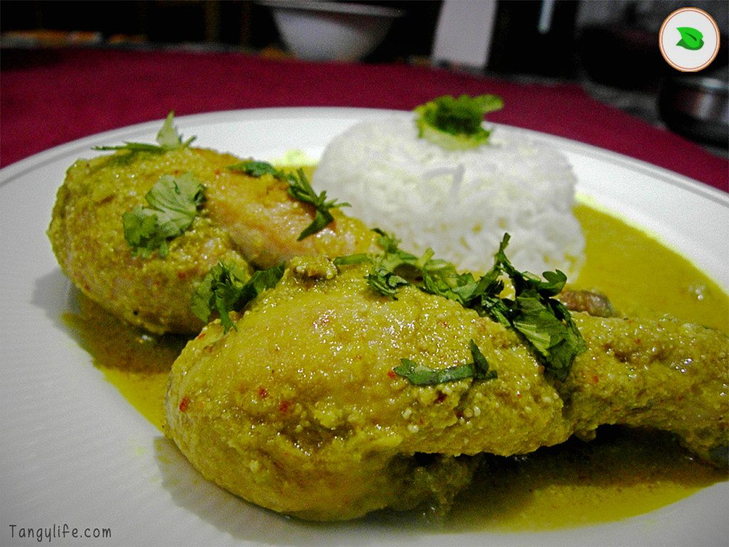 posto chicken recipe bengali chicken in poppy seed gravy with rice