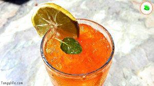 yellow summer cooler refreshing summer mocktail drink final tangylife