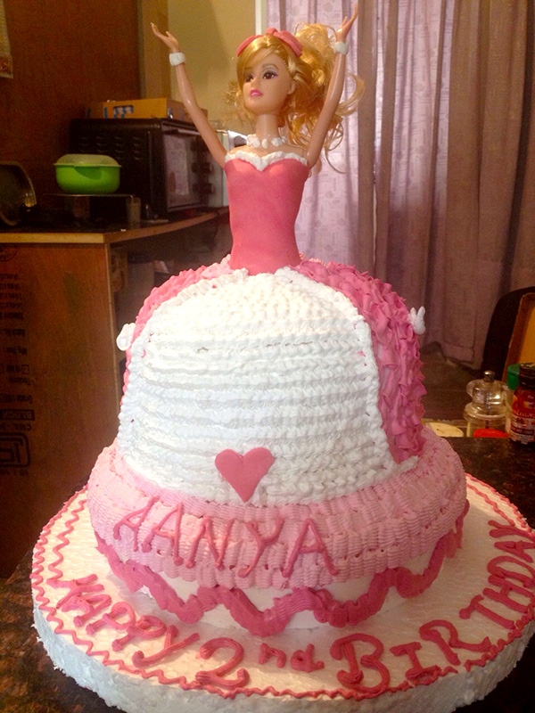barbie doll cake recipe tangylife