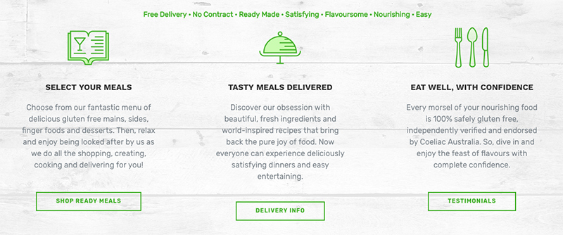 The Gluten Free Meal Co Review - tangylife