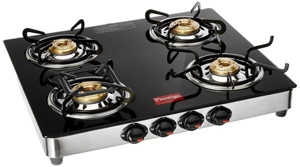 Prestige Marvel Gl Top Gas Stove 4 Burners Gtm 04 Ss