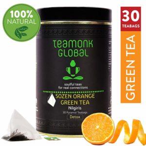 Teamonk Nilgiri Detox green tea review