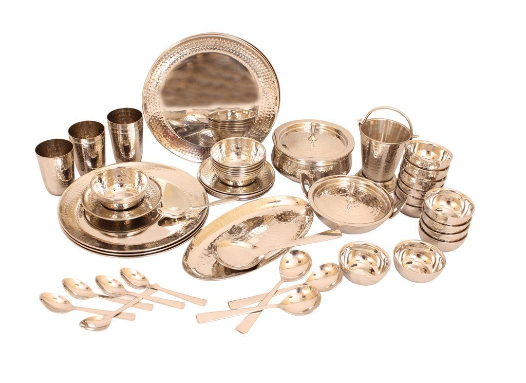 Indianvilla stainless steel dinnerset review tangylife