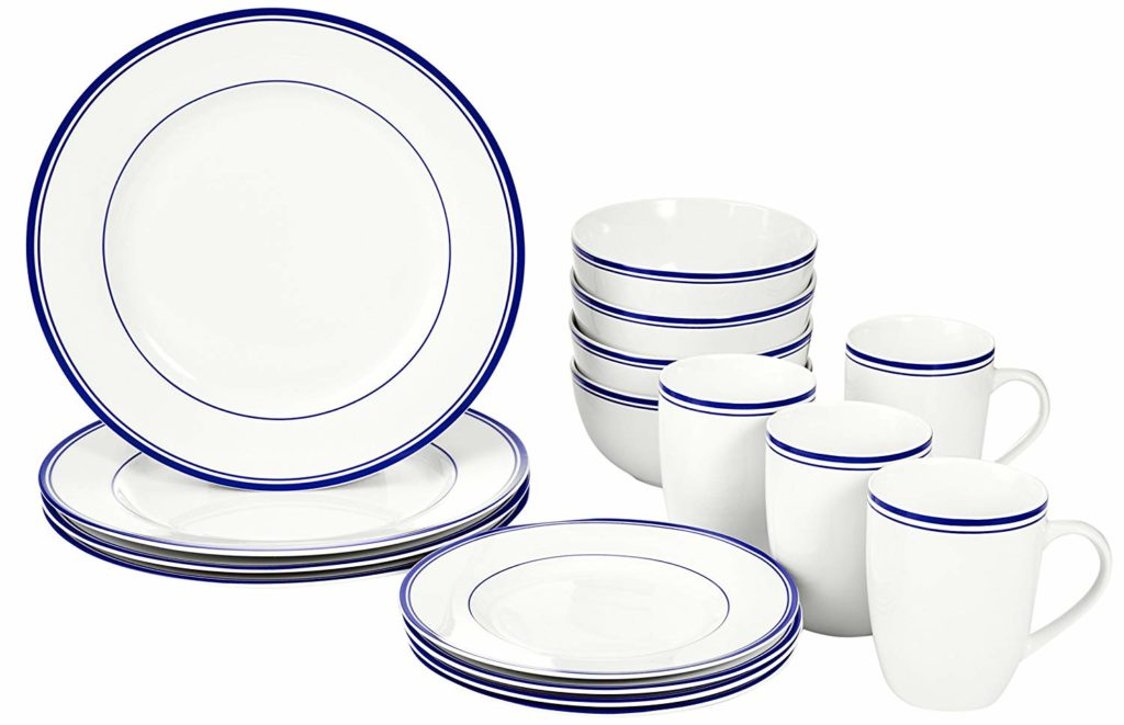 amazonbasics dinnerware set review tangylife