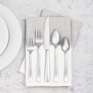 Amazonbasics stainless steel flatware review