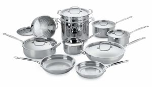 Cuisinart stainless steel cookware set review