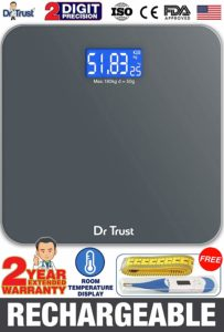 Dr Trust electronic digital weighing machine review