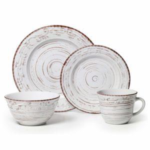 Pfaltzgraff Trellis White Dinnerware Set Review tangylife