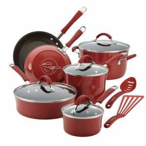 Rachael ray porcelain cookware set review