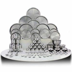 Shri & Sam  stainless steel dinnerware brand review tangylife