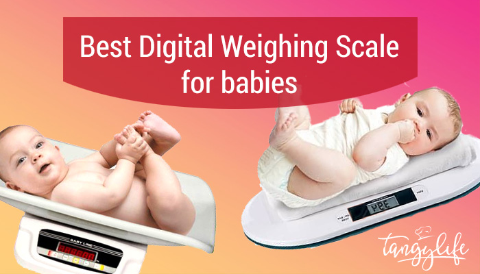 best digital weighing scale for babies tangylife