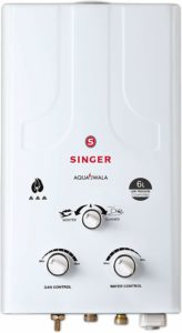 Singer Aqua Jwala Geyser review tangylife blog