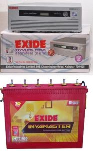 Exide Sine Wave with battery review tangylife