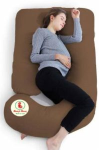 Moms Moon U-Shape Pregnancy pillow in India