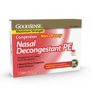 GoodSense Nasal Decongestant tablets review