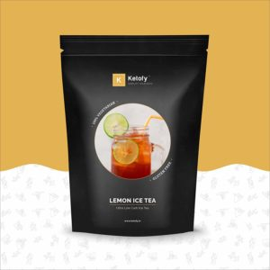 Ketofy Lemon Keto Iced Tea brand review tangylife