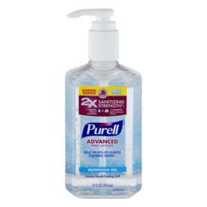 Purell Advanced Hand Sanitizer review tangylife