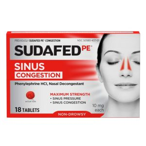 Sudafed Decongestant tablet review tangylife