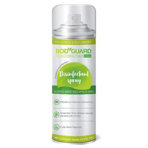 BodyGuard Disinfectant Spray review tangylife