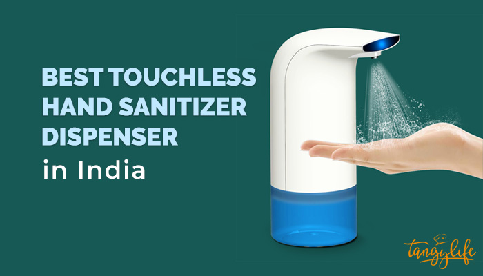 best touchless hand sanitizer dispenser india tangylife
