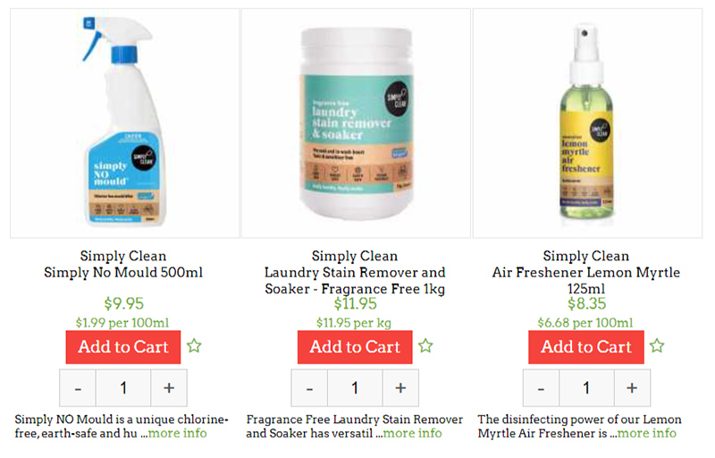 household and cleaning doorstep organics review