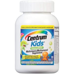 Centrum Kids Chewables Multivitamin Review tangylife