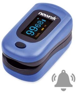Newnik Pulse Oximeter with Audio Review tangylife