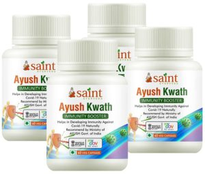 Saint Ayurveda Ayush Kwath Immunity Booster Review tangylife