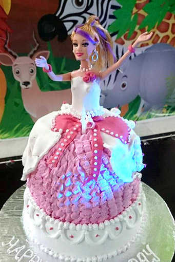 barbie doll cake - tangylife