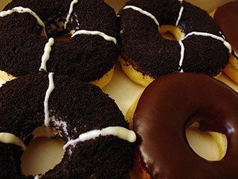chocolate donuts - tangylife